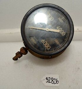 Vintage Foxboro Liquid Level Gage Steam Punk inv 32826