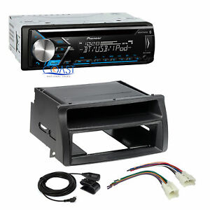 Pioneer Car Stereo Mp3 Aux Bluetooth Dash Kit Harness For Toyota Corolla 03 08