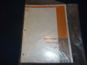 Case 1840 Uni loader Skid Steer Parts Book Manual Plus Revisions 1
