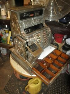 Antique National Cash Register Model 1064 G