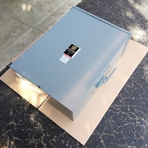 New Square D Dtu324nrb Double Throw Safety Switch 200a 240v 50 60 Hz 3 Poles
