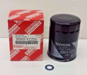 Lexus And Toyota Oem Oil Filter And Drain Plug Washer 90915 Yzzd3 90430 12031