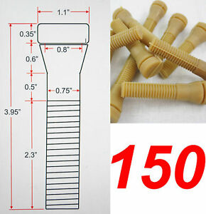 150 Large Chicken Plucker Poultry Plucking Fingers Duck Goose