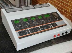 Interferential Physical Therapy Machine Ift Best For Healthcare With Accessories