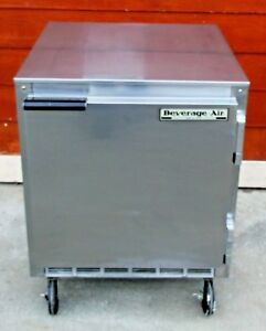Refrigerator Under Counter Work Top Beverage Air Commercial Ucr27