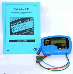Peak Atlas Dca55t Semiconductor Component Analyser Model Dca55