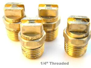 Carpet Cleaning Wand Brass V jets 9502 1 4 Threaded