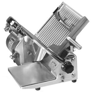Globe Gc512 12 Inch Heavy Duty Compact Manual Food Slicer Nsf