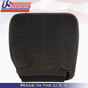 2004 Dodge Ram 1500 Slt Driver Bottom Replacement Cloth Seat Cover Dark gray