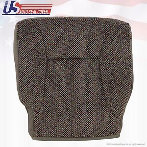 2001 2002 Dodge Ram 1500 2500 3500 Hd Slt Driver Bottom Cloth Seat Cover