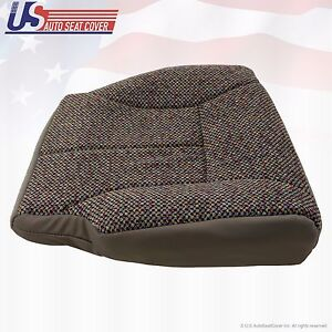 1998 1999 2000 Dodge Ram Hd1500 2500 3500 Slt Passenger Bottom Cloth Seat Cover