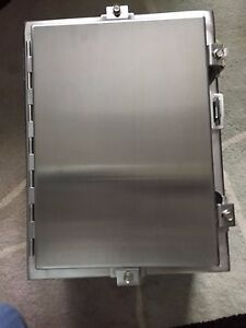 Hoffman Stainless Steel Enclosure A 16h1208ss6lp Model 83600