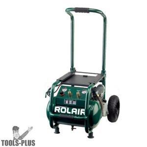Rolair Vt25big 2 5 Hp 115v 6 5 Cfm 90psi 5 3 Gal Compressor Folding Handle New