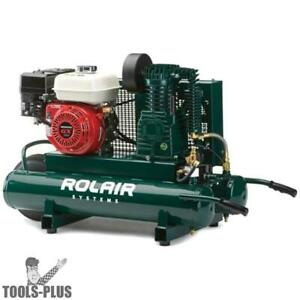Rolair 4090hk17 5 5 Hp 9 Gal Single Stage Portable Air Compressor New