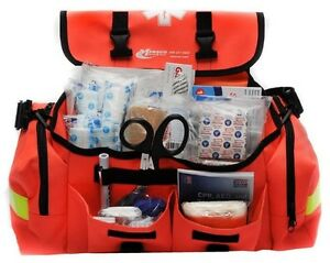 First Aid Kit Trauma Bag Red Cross Paramedic Emergency Response Sports Industry