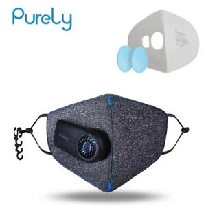 Xiaomi Purely Anti pollution Air Mask With Pm2 5 Rechargeable Filter With Fan