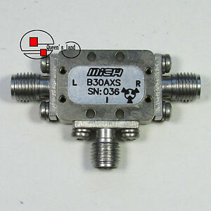 1 used Mica Microwave B30axs 3 7ghz Sma Double Balanced Mixer