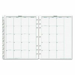 Franklin Covey 35414 Original Dated Daily Planner Refill January december 4