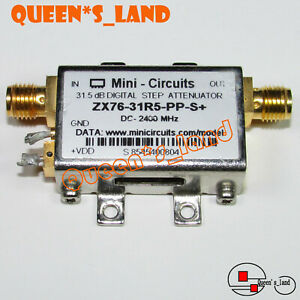 1 used Mini circuits Zx76 31r5 pp s Dc 2400mhz 31 5db Digital Step Attenuator