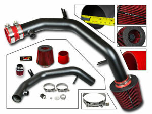 Cold Air Intake Kit Matt Black Red For 99 04 Golf Jetta Mk4 Vr6 Gti 2 8l V6