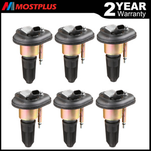 Set Of 6 Ignition Coils For Chevy Trailblazer Gmc Canyon Envoy C1395 Uf 303