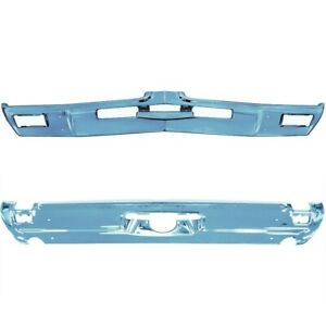 1969 Cutlass 442 Front And Rear Bumpers New Triple Plated Chrome