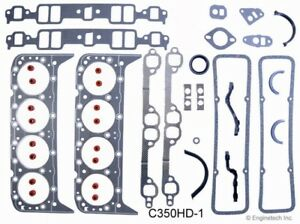 Enginetech C350hd 1 Chevy Sbc Hd Full Gasket Set Graphite Stainless Head Gaskets
