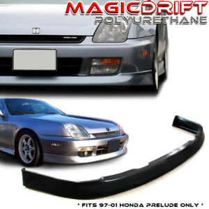 For 97 01 Honda Prelude Jdm Oe Optional Front Bumper Lip Chin Spoiler Body Kit