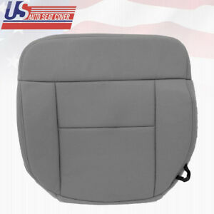 2005 Ford F150 Lariat Driver Side Bottom Replacement Cloth Seat Cover Flint Gray