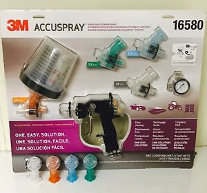 3m 16580 Accuspray Gun System With Pps 3m 16580 extra Tips