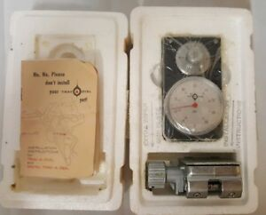 Brand New Southwest Industries 6a Trav a dial With Base