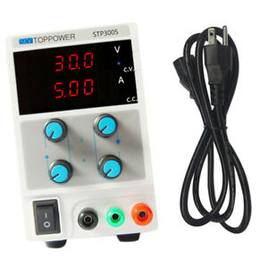 30v 5a Digital Dc Power Supply Precision Variable 3 digit Adjustable Us