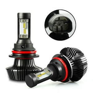 Jdm Astar 8g 8000lm 64w 2x 9004 hb1 Led Headlight High Low Dual Beam Bulbs White