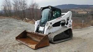 Bobcat T300 Track Skid Steer Low Hrs Pre Emissions Cab A c Ready To Work In Pa