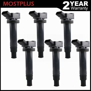 Set Of 6 Ignition Coils For Toyota Camry Avalon Lexus Es300 Rx300 Uf267