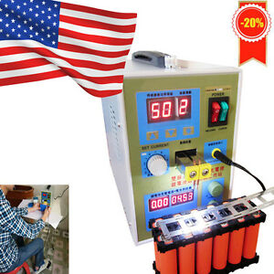 2in1 Spot Welder Soldering Iron Staion Battery Welding Machine 60a W foot Switch