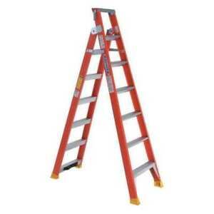 Multipurpose Ladder 8 Ft H fiberglass Werner Dp6208
