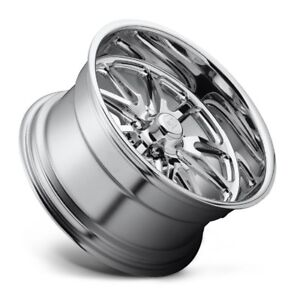 15x8 Us Mag Rambler U110 5x4 5 Et1 Chrome Wheels Set Of 4