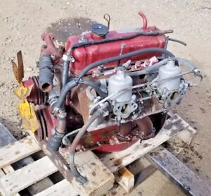 1970 Mgb Gt Engine Intake Exhaust Manifold Carbs Flywheel Etc Complete Takeout