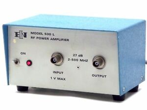 Ein Electronic Navigation Industries 500 L 500l Rf Power Amplifier 27db 2 500mhz