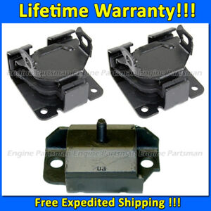 K2110 Engine Motor trans Mount Set For 96 05 Chevy Blazer chevy S10 4 3l 2wd