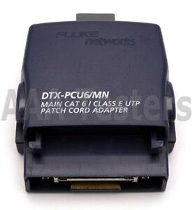 Fluke Networks Dtx pcu6 mn Main Patch Cord Adapter 4 Dtx 1800 Dtx 1200 Dtx Pcu6