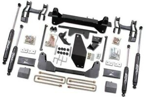 Zone Offroad 6 Inch Suspension Lift Kit 1997 Chevy K1500 Pickup