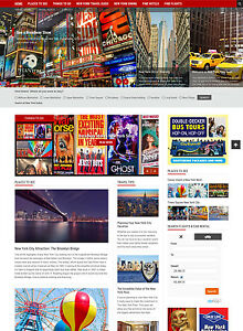 New York Hotel And Travel Usa Website For Sale Affiliate Responsive Mobile