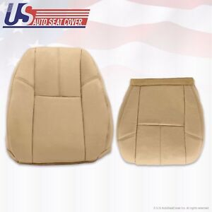 2007 2008 2009 Chevy Tahoe Suburban Gmc Yukon Upholstery Leather Seat Cover Tan