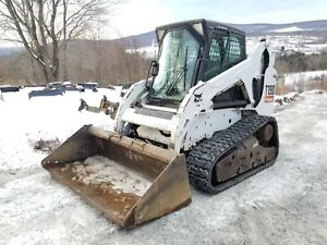 2011 Bobcat T190 Cab Heat A c Selectable Controls Roller Suspension Ready 2 Work