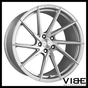 19 20 Stance Sf01 Silver Forged Concave Wheels Rims Fits Chevrolet C7