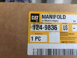 Caterpillar 1249836 Manifold