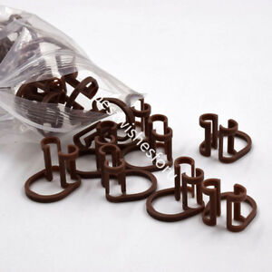 1000 Pc 16 8 20 22 4mm Disposable Cotton Isolator Holder Clips Dental Clinic