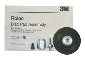 3m 05540 3 Inch Roloc Disc Pad Assembly